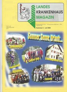 Zeitung: Landes krankenhaus Magazin (LKH-Universitätsklinikum Graz)