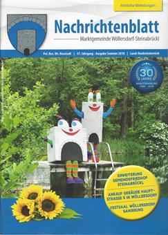 Zeitung: Nachrichtenblatt der Marktgemeinde Wöllersdorf-Steinabrückl