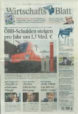 Zeitung: Wirtschaftsblatt